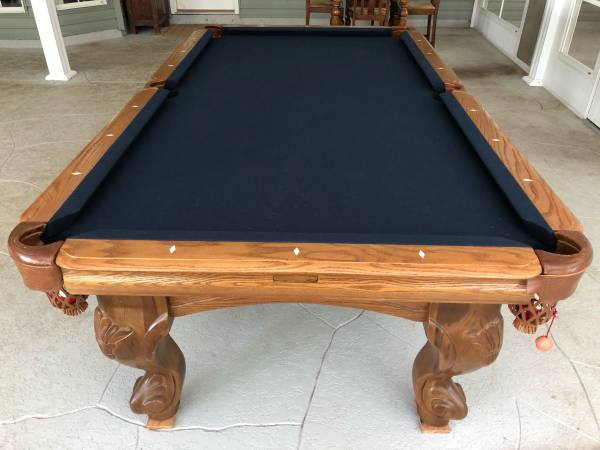 Solo 174 Slidell Pool Table 47
