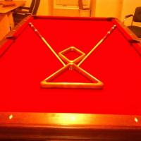Olhausen 8 Ft Professional Slate Pool Table