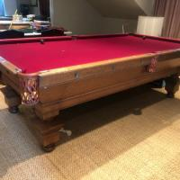 Monarch the Brunswick Balke Collender Co. Pool Table