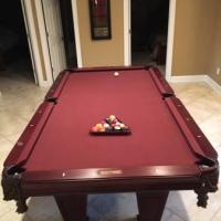 Barclay Pool Table