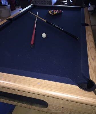 Oak Winchester Pool Table