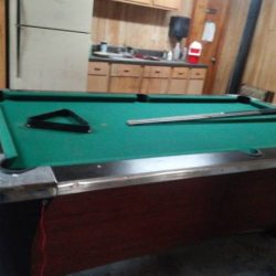 Dynamo Pool Table