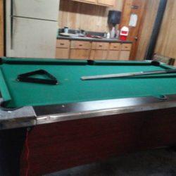Solo 174 Metairie Vintage Pool Table 51
