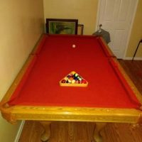 8' Foot Regulation Pool Table