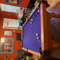 American Heritage 8ft Slate Pool Table